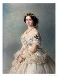 Portrait of Princess of Baden, 1856 Giclee Print by Franz Xavier Winterhalter
