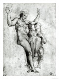 Psyche Presenting Venus with Water from the Styx, 1517 Giclee Print by Raphael