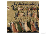 Christ Glorified in the Court of Heaven, Detail of Musical Angels from the Right Hand Side, 1419-35 Giclee Print by  Fra Angelico