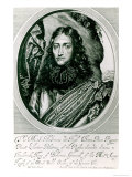 Prince Rupert of the Rhine Engraved by William Faithorne Giclee Print by William Dobson