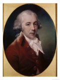 Portrait of Richard Brinsley Sheridan Giclee Print by John Russell