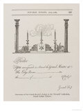 Summons of the Grand Master's Lodge, Mid 1700S Giclee Print