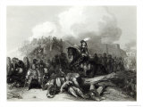 Storming of Bristol, Engraved by J.C. Varrall 1844 Giclee Print by George Cattermole