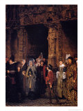 Leaving Church in the Fifteenth Century, 1864 Giclee Print by Sir Lawrence Alma-Tadema