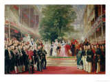 The Opening of the Great Exhibition, 1851-52 Giclee Print by Henry Courtney Selous