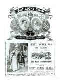 Sunlight Soap Advertisement, from The Illustrated London News Diamond Jubilee Number, 1897 Giclee Print