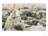 The Surrender of the Finns in 1940 Giclée-Druck von Ivan Alexeyevich Vladimirov