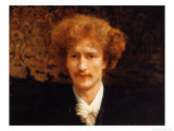 Portrait of Ignacy Jan Paderewski, 1891 Giclee Print by Sir Lawrence Alma-Tadema