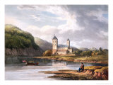 Church of Johannes at the Influx of the Lahn, Engraved by Thomas Sutherland, c.1819 Giclee Print by Christian Georg II Schutz Or Schuz