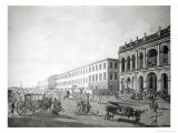 The Mayor's Court and Writers' Building, Calcutta, 1786 Giclee Print by Thomas & William Daniell