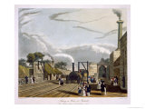 Water, Parkside, Liverpool and Manchester Railway, c.1833 Giclee Print by Thomas Talbot Bury