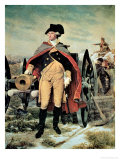 George Washington at Dorchester Heights, Massachusetts Giclee Print by Emanuel Gottlieb Leutze