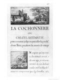 La Cochonnerie Ou Calcul Estimatif from Oisivetes de M. Vauban Giclee Print by Sebastien Le Pretre de Vauban