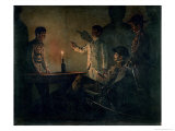 Interrogation of a Deserter Gicl&#233;e-Druck von Vasilij Vereshchagin