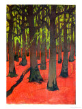 The Forest with Red Earth, c.1891 Giclee Print by Georges Lacombe
