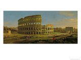 The Colosseum Giclee Print by  Vanvitelli (Gaspar van Wittel)