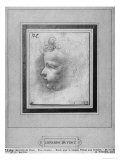 Head of a Child Giclee Print by Leonardo da Vinci 