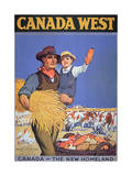 Poster Promoting Immigration to Canada, 1925 Giclée-Druck