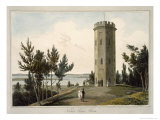 Nelson's Tower, Forres, c.1821 Giclee Print by Thomas & William Daniell