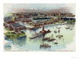 Columbian Exposition, 1893, c.1893-94 Giclee Print by Mario Borgoni