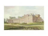 South East View of Kensington Palace, 1826 Giclee Print by John Buckler