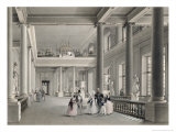 The Upper Entrance Hall of the Fine Arts Academy in St. Petersburg, 1838 Giclee Print by Vasili Semenovich Sadovnikov