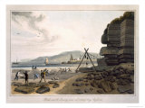 Black Marble Quarry, Red Wharf Bay, Anglesea, c.1815 Giclee Print by Thomas & William Daniell