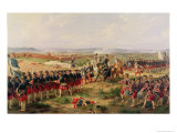 Battle of Fontenoy, 11 May 1745: The French and Allies Confronting Each Other Giclee Print by Felix Philippoteaux