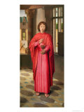 St. John the Evangelist, a Panel from 'The Donne Triptych', c.1494 Giclee Print by Hans Memling