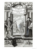 Titlepage of The History of the Reformation of the Church of England Giclee Print by Robert White