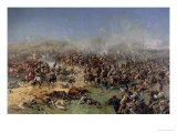 Battle of Borodino on 26th August 1812, 1913 Giclee Print by Franz Roubaud