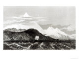 Mount Sarmiento, Engraved by Thomas Landseer Giclee Print by Conrad Martens