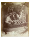 The Passing of King Arthur, Illustration from 'Idylls of the King' by Alfred Tennyson Lámina giclée por Julia Margaret Cameron