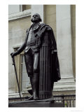 Statue of George Washington in Trafalgar Square, London Giclee Print by Jean-Antoine Houdon