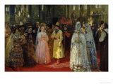 The Tsar Choosing a Bride, c.1886 Giclee Print by Ilya Efimovich Repin