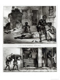 Negro Surgeon, Store of a Pork Seller Giclee Print by Jean Baptiste Debret