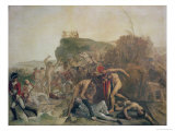 The Death of Captain James Cook, 14th February 1779 Giclee Print by Johann Zoffany