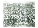 The Battle of Cajamarca, 1532 Giclee Print by Theodor de Bry