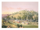 Evening at Angaston, South Australia, 1846 Giclee Print by George French Angas