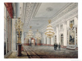 The Great Hall, Winter Palace, St. Petersburg, 1837 Giclee Print by Vasili Semenovich Sadovnikov