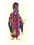 Costume Design For a Character in The Legend of Joseph, 1914 Giclee Print by Leon Bakst
