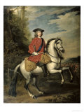 Portrait of King George I, 1717 Giclee Print by Godfrey Kneller