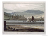 Conway Castle, Caernarvonshire, c.1815 Giclee Print by Thomas & William Daniell