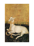 White Hart, from the Wilton Diptych c.1395-99 Giclee Print by  Master of the Wilton Diptych