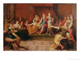 Solomon and His Women Giclee Print by Frans Francken the Younger
