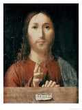 Cristo Salvator Mundi, 1465 Giclee Print by  Antonello da Messina