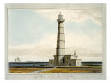 Light House on the Start, Isle of Sandy, Orkney, c.1821 Giclee Print by Thomas & William Daniell