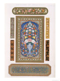 Indian, Plate LIV, from The Grammar of Ornament by Owen Jones Giclee Print by Owen Jones