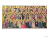 The Forerunners of Christ with Saints and Martyrs, 1423-24 Giclee Print by  Fra Angelico