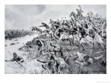 The Battle of Ellandun, 825 Ad, Hutchinson's Story of the British Nation, c.1920 Giclee Print by George Derville Rowlandson